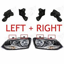 LEFT AND RIGHT HEADLAMP HEADLIGHT BRACKET TAB REPAIR KIT VW POLO 2010 ONWARDS