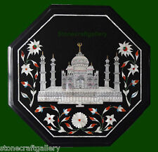 """12"""" Coffee Table Top Marble Pietra dura Art Handmade Home Decor and Gift"""
