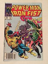 Power Man and Iron Fist #99 1983 ROTJ video game ad  Mark Jewelers insert MJ