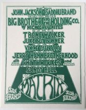 Big Brother And The Holding Company At The Matrix 4/7-9/1970 Behrens