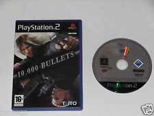10,000 BULLETS for PLAYSTATION 2 'VERY RARE & HARD TO FIND'
