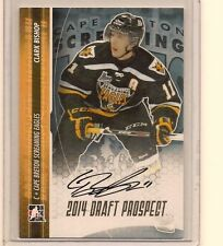 CLARK BISHOP 2014 LEAF IN THE GAME ITG DRAFT PROSPECTS ON CARD GOLD AUTO /20