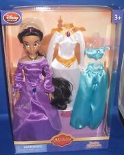 DISNEY PRINCESS JASMINE (ALADDIN) WARDROBE SET COLLECTOR DOLL & FASHIONS