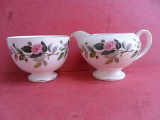 WEDGWOOD, HATHAWAY ROSE, latte Brocca & sugar bowl, dall' teaset