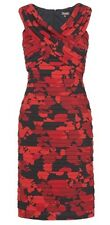Brand New Phase Eight / 8 Jodie Pleat bandage dress red and black Size 10