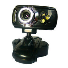 20 MegaPixel CMOS webcam with 3 LEDs + Microphone + USB PC Camera 3LED Skype