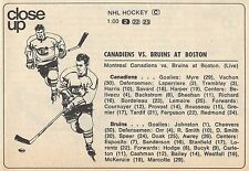 1970 NHL TV AD~BOSTON BRUINS STANLEY CUP CHAMPS~BOBBY ORR~MONTREAL CANADIANS
