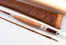 CANNE MOUCHE bambou refendu fly rod fishing bamboo cane Fliegenruten angelrute a