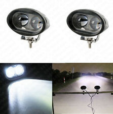 2x 20W CREE LED White Car Truck SUV 4WD Driving Spot Beam Light Bar Lamp 12V 24V