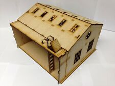TTCombat Town Scenics - Warehouse Extension - Great for Malifaux & Batman Game