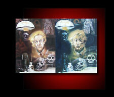 RARE OBJECTS OF NIGHT GALLERY HAND OIL PAINTING 218