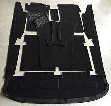 Komplettausstattung Autoteppich für Mercedes W108 Lim 14tlg schwarz kl. Getriebe