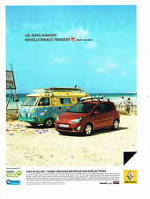 PUBLICITE ADVERTISING 094  2009   RENAULT TWINGO   by RIP CURL