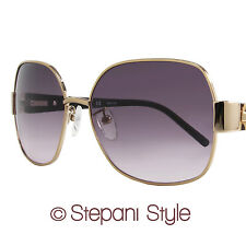 Givenchy Oval Sunglasses SGV414 8FEX Rose Gold/Leopard Effect 414