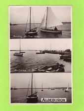 3 view Yachting River Alde Aldeburgh unused RP pc  Empire View Ref B946