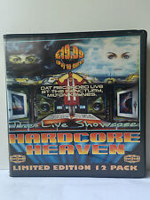 HARDCORE HEAVEN THE LIVE SHOWCASE HARDCORE / TECHNO RAVE 12 TAPE PACK RARE 1997