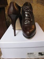 AUTHENTIC DIOR RUNWAY ANKLE CORSET BOOTS SIZE 39.5/9.5 NWB