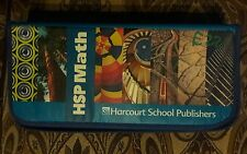 Hsp Harcourt Math Student Manipulative Kit Grade 5-6 9780153669064