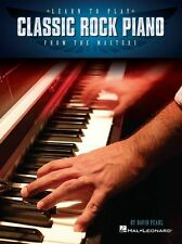 Learn To Play Classic Rock Funk Blues Jazz Piano from The Masters MUSIC BOOK