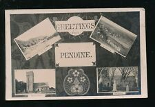 Wales Carmarthenshire PENDINE Multi/view RP PPC Used 1907
