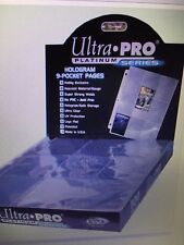 Lot of 10 ULTRA PRO 9-Pocket Trading / Baseball Card Pages / coupon binder sheet