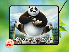 "KUNGFU PANDA 3 DRAGON WARRIOR FLEECE BLANKET 2 HOME BED GIFT SIZE 50""X60"""