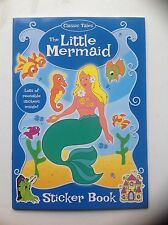 The Little Mermaid colouring and sticker book