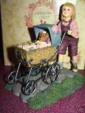 yesterday's child baby buggy girl doll figurine Casey with Baxter afternoon stro
