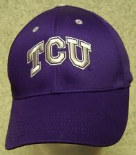 Embroidered Baseball Cap NCAA TCU Texas Christian Horned Frogs NEW 1 hat fit all