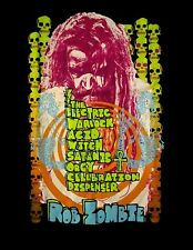 ROB ZOMBIE cd cvr ELECTRIC WARLOCK ACID WITCH SATANIC ORGY Official SHIRT MD new