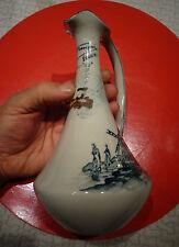Ancienne Carafe à Décanter le Vin Porcelaine Labbe Francois Gold-Cup