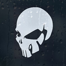 The Punisher Skull Alien's Head Car Laptop Decal Vinyl Sticker For Window Bumper