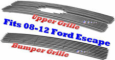 09 2009 2012 08-12 2011 10 11 Ford Escape Bolton Billet Grille 3PC Combo 2008