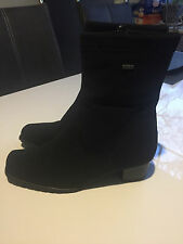 ARA Gore Tex Stretch Stiefeletten schwarz Luftpolster Gr.37,5 UK4 1/2 TOP!!!