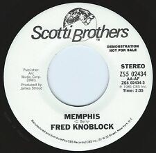 FRED KNOBLOCK Memphis ((**NEW 45 DJ**)) from 1981