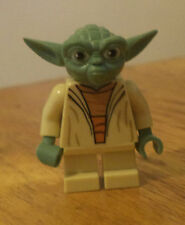 Star Wars lego minifigure YODA jedi white hair from at-rt 75002