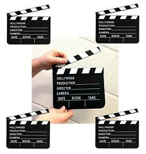 5 x Directors Clapperboard Hollywood Party Decoration Clapper Board Film Movies
