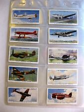 """1938 """"Speed"""" Tabacco Cards Full Set of 50 Willis Cigarettes cards"""