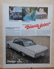 1967 magazine ad for Dodge - 1968 Polara, Excitement worth looking into it