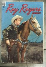 Roy Rogers Comics #7-1948 vg photo cover Trigger