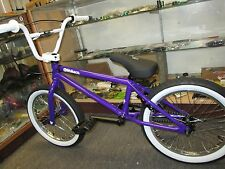 "FIT 2017 18"" GLOSS PURPLE BMX BIKE 18"" wheels CUSTOM USA MADE BARS & GRIPS NEW"
