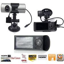 2.7'' 1080P Car DVR Digital Camera Recorder Dash Cam G-Sensor GPS Dual Lens