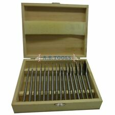 16pc Flat Wood Drill Bit Set / Woodworking / Carpentry Tools 6mm - 38mm TE558