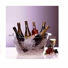Wine Champagne Beverage Beer Chiller Ice Bucket Bottles Cooler Party Event Tub
