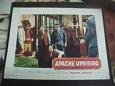 APACHE UPRISING, orig 1966 LC #5 (DeForest Kelly losing a fistfight)