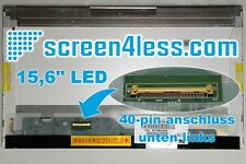 "15.6"" Glossy LED 1366x768 HD LP156WH2 LTN156AT05 LP156WH4 B156XW02 40pin LCD"