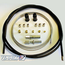 Venhill Universal Motorcycle Throttle and Clutch Cable Kit Bundle
