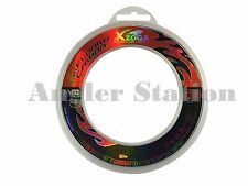 Xzoga 100% 20lb/20m Fluorocarbon Invisible Fishing Leader Line (Made in Japan)
