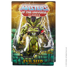 """Masters of the Universe  Evil Seed Figure Club 200X  6"""" inch action Figure"""