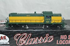 HO scale Atlas Chicago & North Western Ry Alco RS-1 locomotive train